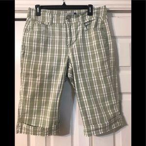 Bandolino Blue Bermuda Shorts